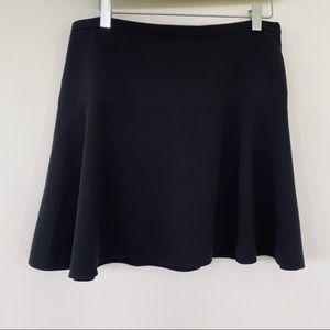 BCBG Maxazria black mini skirt